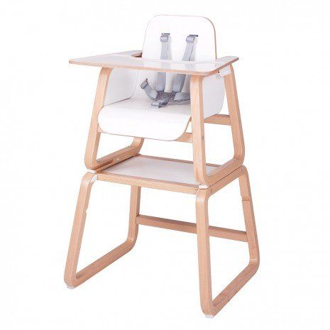 Knuma Connect 4 In 1 Highchair   Natural