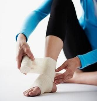 Good info on taking care of an ankle injury!