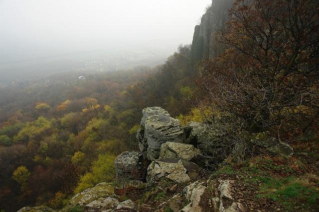 Balatonnal a köd mögött: Szent György-hegy, ősszel