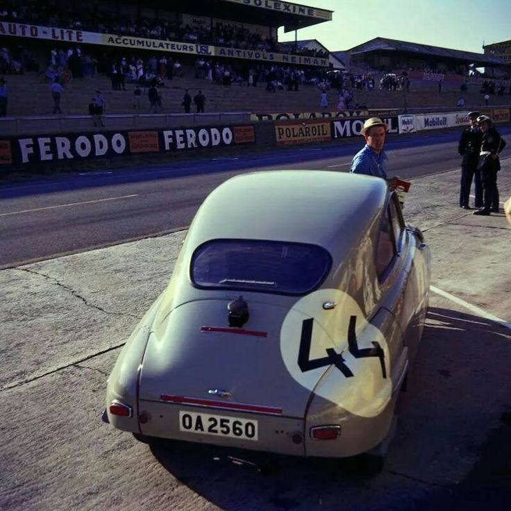 Saab 93 at Le Mans Classic