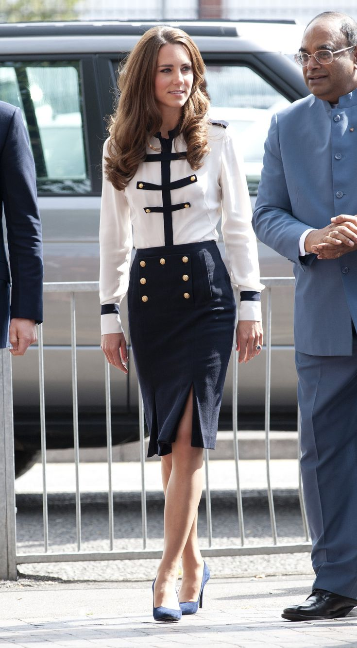 At a visit to Bletchley Park in June 2014, where her hair looked voluminous and amazing. | 16 Times Kate Middleton Proved She's Utterly Flawless