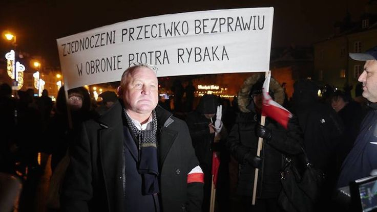 "Polish man convicted by court for burning ""Jew effigy"" in demonstration.Piotr Rybak set fire to figure he said represented George Soros at anti-Muslim protest against accepting Syrian refugees in 2015"