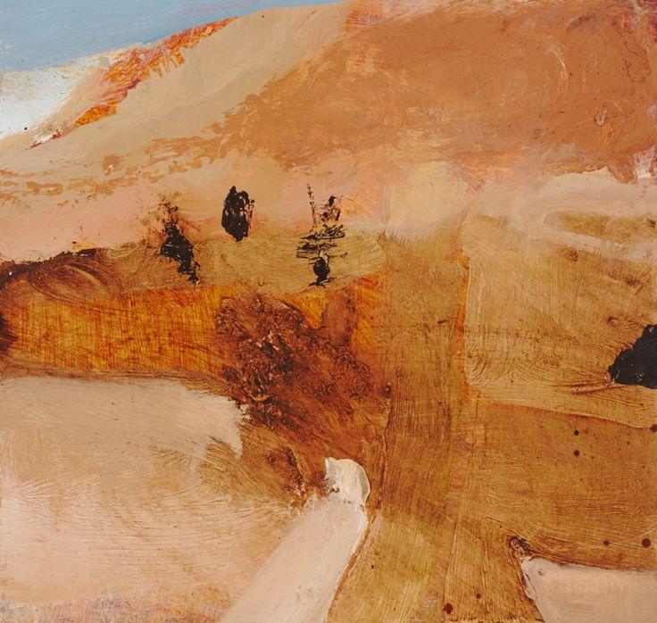 © Luke Sciberras ~ Tanami Road ~ 2014 oil on board at Olsen Irwin Gallery Sydney Australia