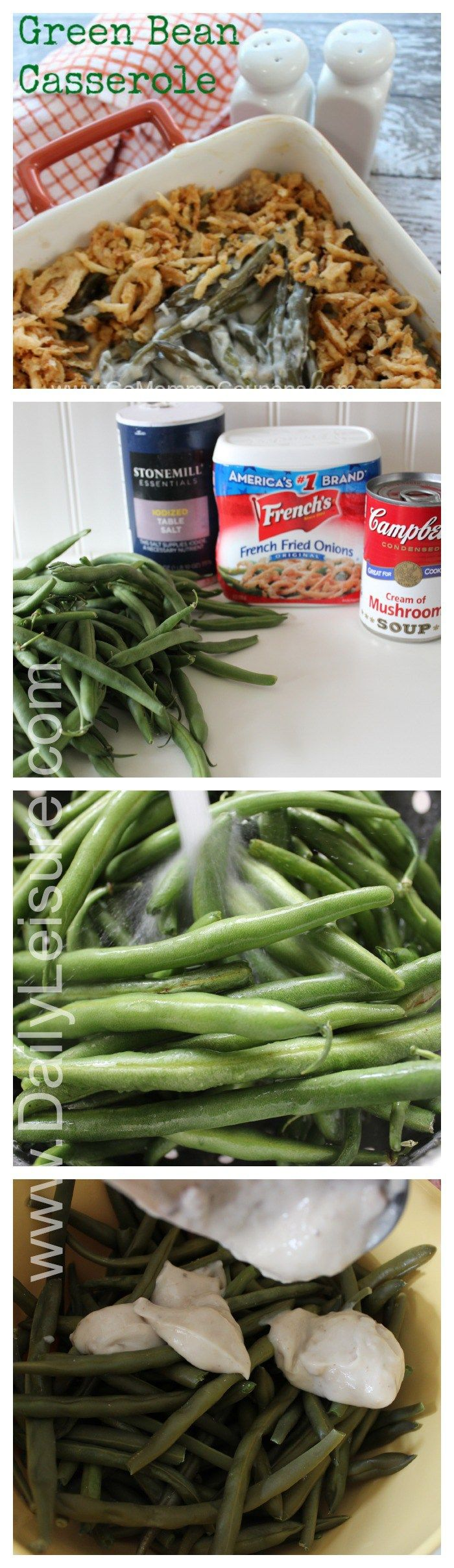 How to make Green Bean cassarole