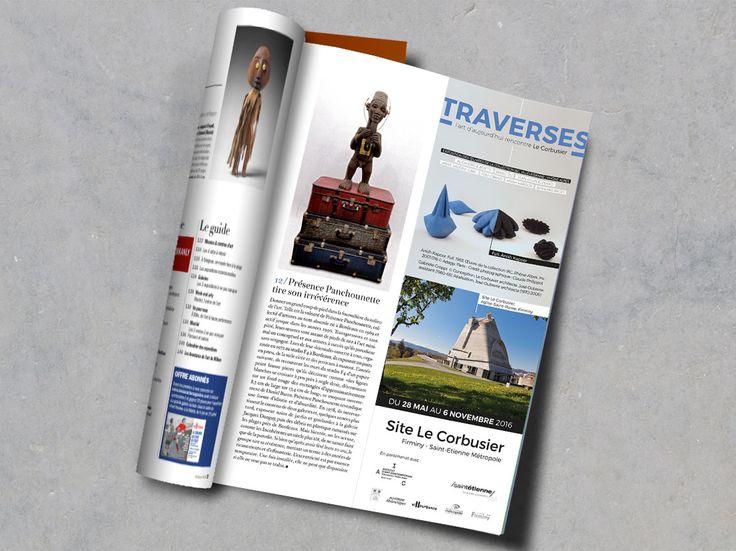 Insert presse Beaux Arts Magazine - Le Corbusier