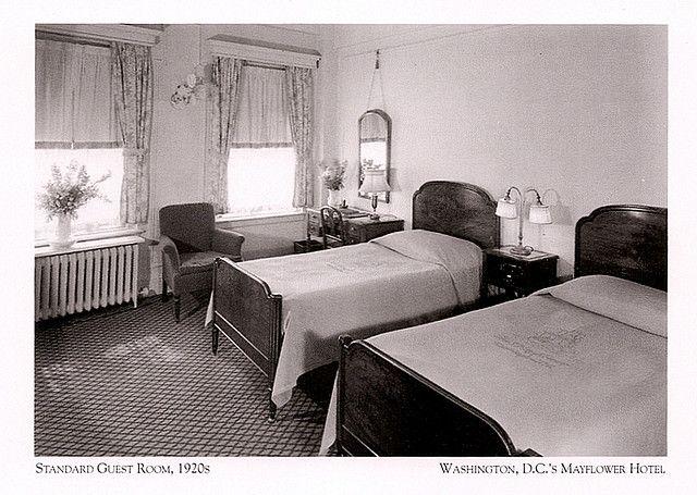 Mayflower Hotel Standard Guest Room 1920s  GypsySet