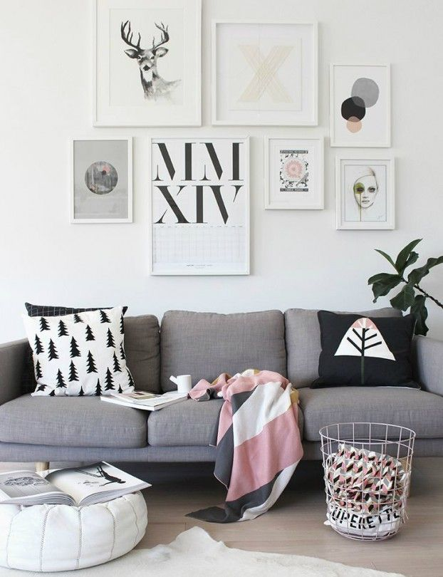 wall art ideas for living room. 21 Art Gallery Wall Ideas 929 best images on Pinterest  Living room design and