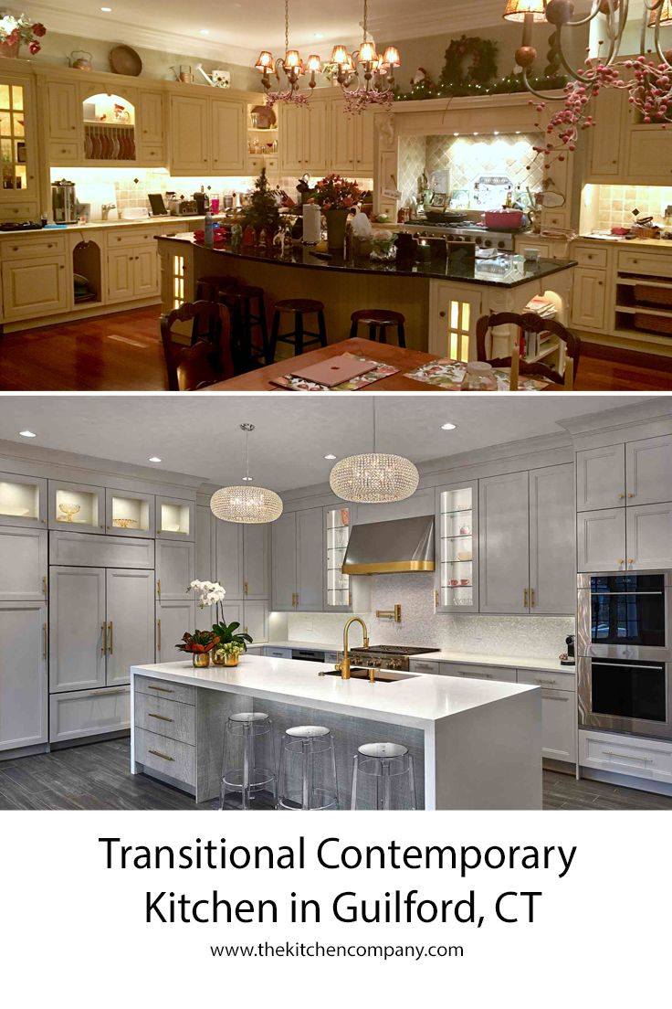 The Two Created A Beautiful Kitchen Between Gail S Eye For Design And Product Knowled Contemporary Kitchen Transitional Kitchen Design Neutral Kitchen Designs