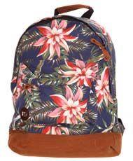 Mi Pac Floral Backpack