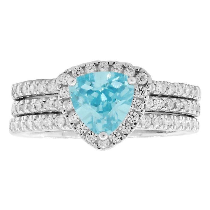 1000 Jewels LLC - Acotas 3: 2.14ct Aquamarine Ice CZ Halo Semi-eternity 3 pc Wedding Set, $73.00 (http://www.1000jewels.com/acotas-3-2-14ct-aquamarine-ice-cz-halo-semi-eternity-3-pc-wedding-set/)