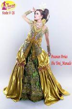 Model Kebaya Gaun Modern (Kode V-16)