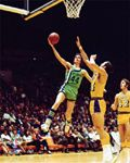 Pete Maravich Hawk in Flight (1971) Atlanta Hawks Premium Poster Print - Photofile Inc.