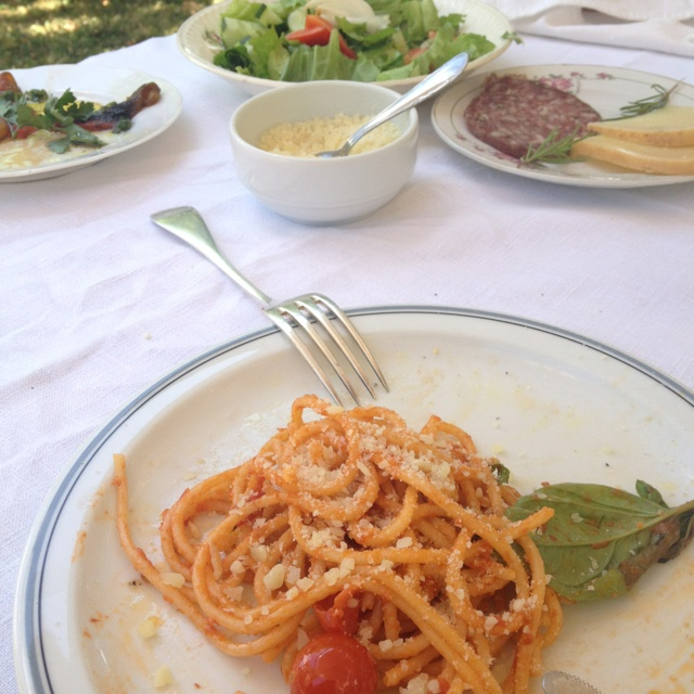 Lunch @ Fattoria La Vialla