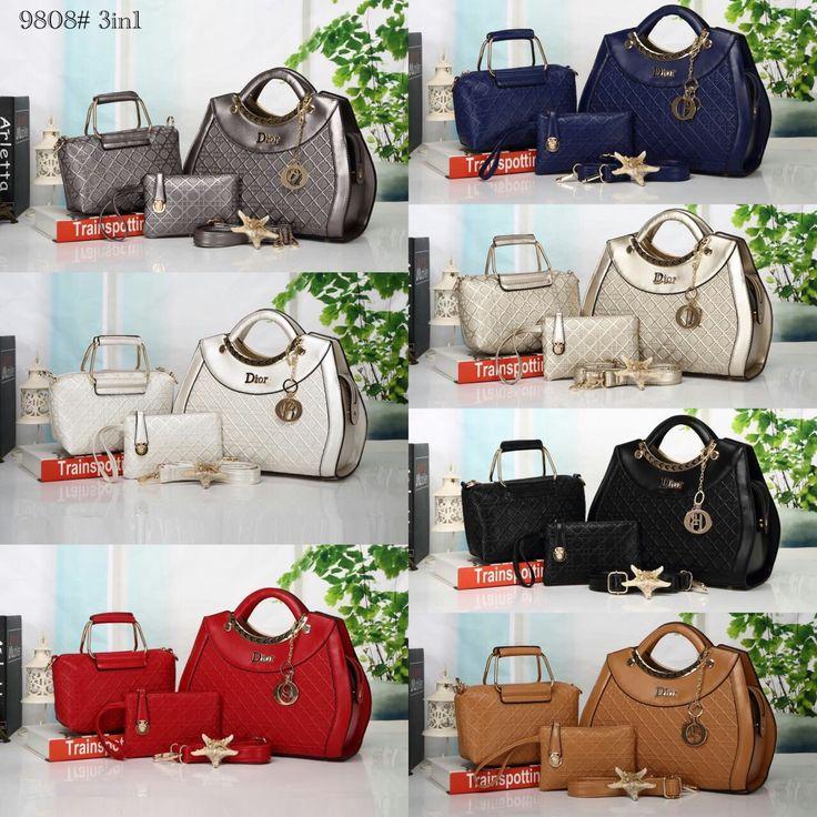 Tas Dior Set 9808 35x13x25 245rb
