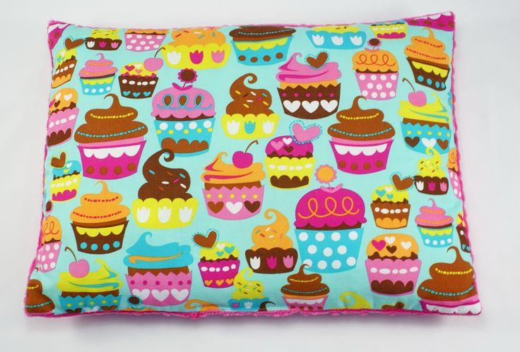 #pillow #babypillow #forkids #kids #cupcake #littlesophie #minky #handmade buy it now on www.littlesophie.pl