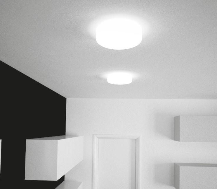Svítidlo stropní a nástěnné PANLUX PSAB-60/B (ALTRA) Svítidlo stropní a nástěnné PANLUX PA PSAB-60/B  ze série ALTRA #interier #interior #modern #moderní #panlux #svítidlo, #osvětlení, #světlo, #light  #wall #strop
