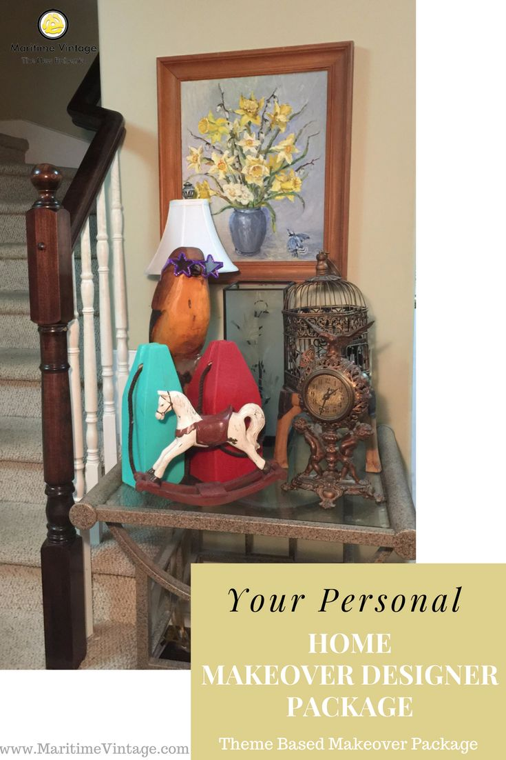 Your Personal Home Designer Makeover | Themed Makeover Package