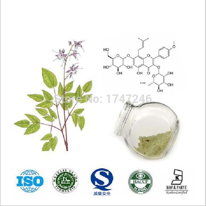 20g Pure Horny Goat Weed/Epimedium Extract Powder, 98% Icariin, Male Health Man Sex Pproducts