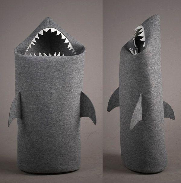 Kids bedroom   little boys room Shark shape Laundry Basket. Best 25  Bedroom hamper ideas on Pinterest   Laundry hamper  Boys