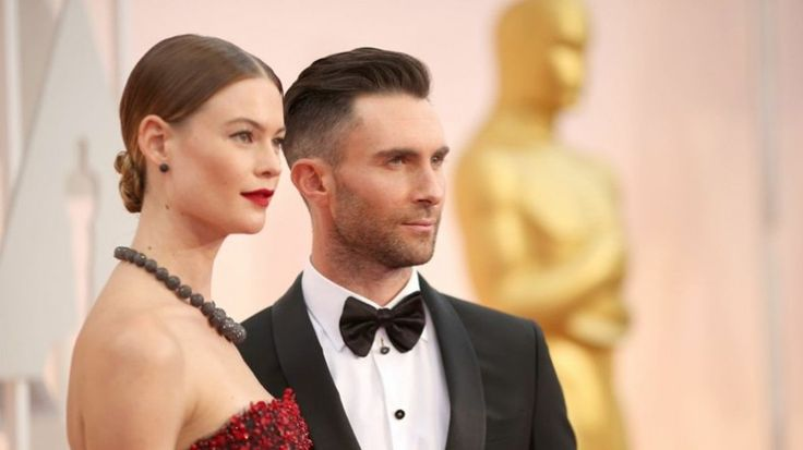 Behati Prinsloo and Adam Levine wore de Grisogono at the 87th Academy Awards