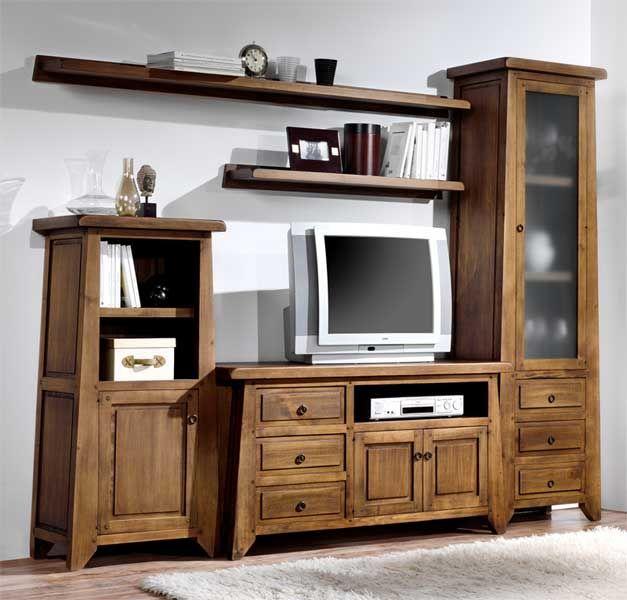 M s de 1000 ideas sobre centros de entretenimiento r stico for Catalogo de muebles de madera para el hogar pdf