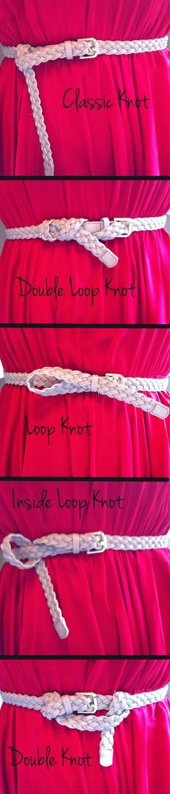 Belt knots fashion | Fashion and styles