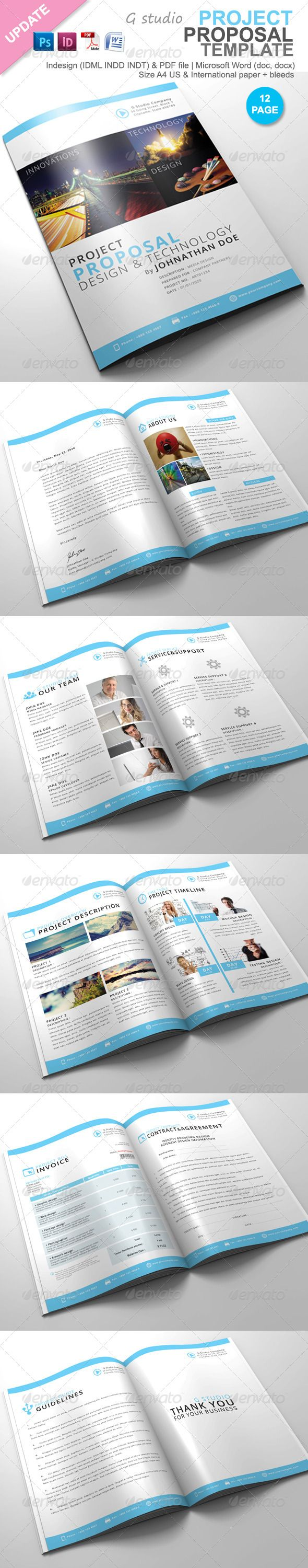 Best ContractProposal Layouts Images On   Proposal