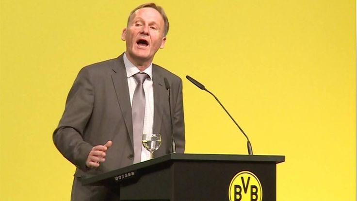 BVB-Boss Watzke ist nach dem Sieg gegen Bayern gut drauf und stichelt gegen RB Leipzig...