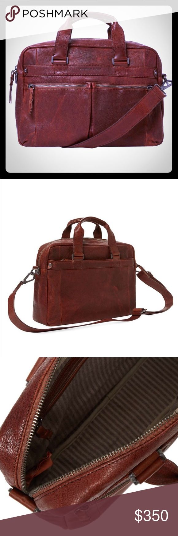Andrew Marc Bowery Leather Briefcase Gorgeous leather, brand new! Andrew Marc Bags Briefcases