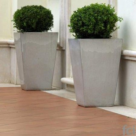Stoneware #Planters by #Unopiu starting from £220. Showroom open 7 days a week. #fcilondon #furniture_showroom_london #furniture_stores_london #Unopiu_garden_furniture #Unopiu_outdoor_furniture #Modern_Outdoor_Furniture