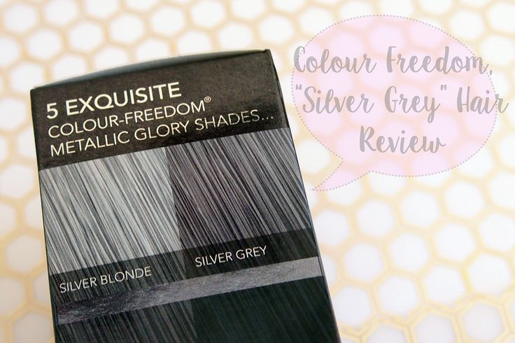 Colour Freedom Metallic Glory In Silver Grey Review