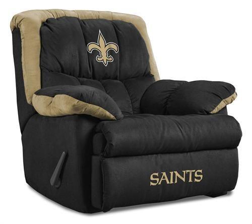 new orleans saints homes | New Orleans Saints Home Team Recliner