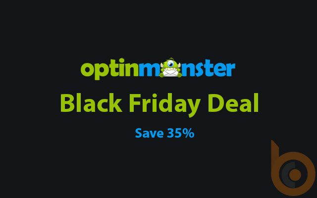 OptinMonster Black Friday/Cyber Monday Deal: Save 35%