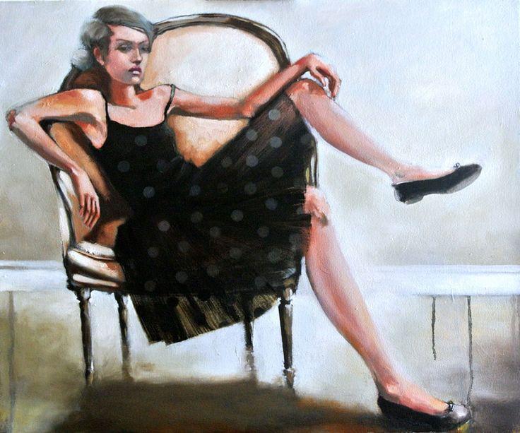 Angry Ballerina by Mila Posthumus