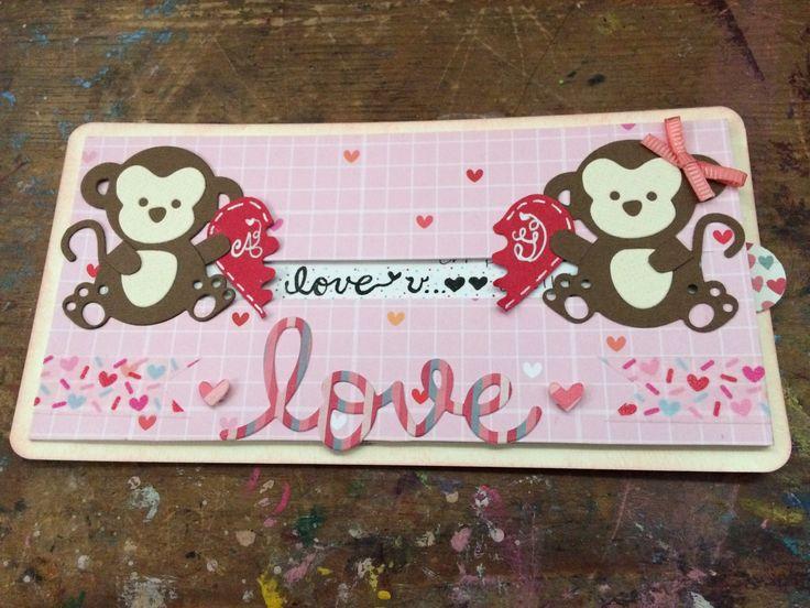 Tarjeta día del amor/ San valentin Cardmaking