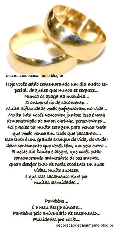 Mensagens de casamento