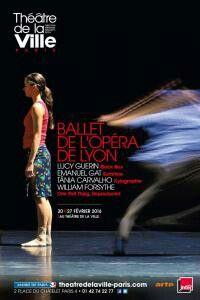 Ballet de l'Opéra de Lyon_Théâtre de la Ville_Xylographie_TaniaCarvalho/Sunshine_E. Gat/Black box_LucyGuerin/One Flat Thing Reproduced_W. Forsythe