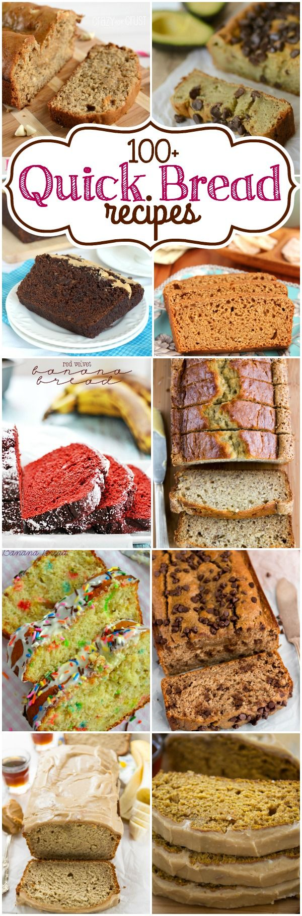 100 quick bread recipes