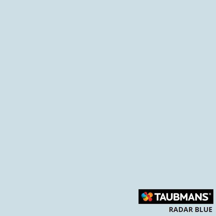 #Taubmanscolour #radarblue