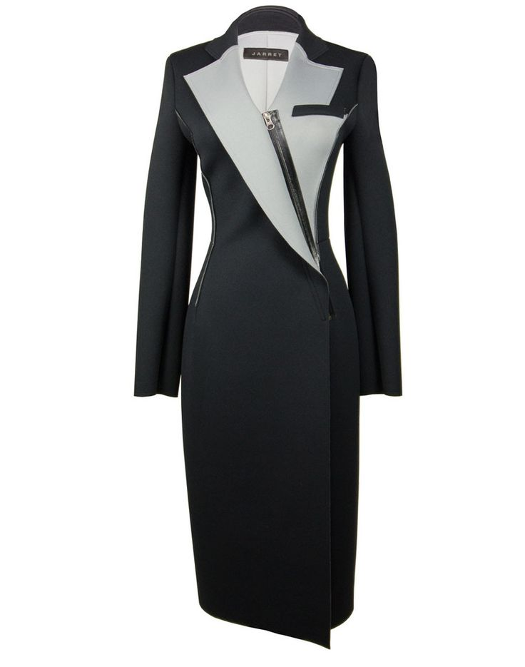 The Neoprene Coat by Jarret on portemode.com