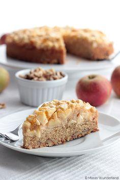 Apfel-Walnuss-Kuchen