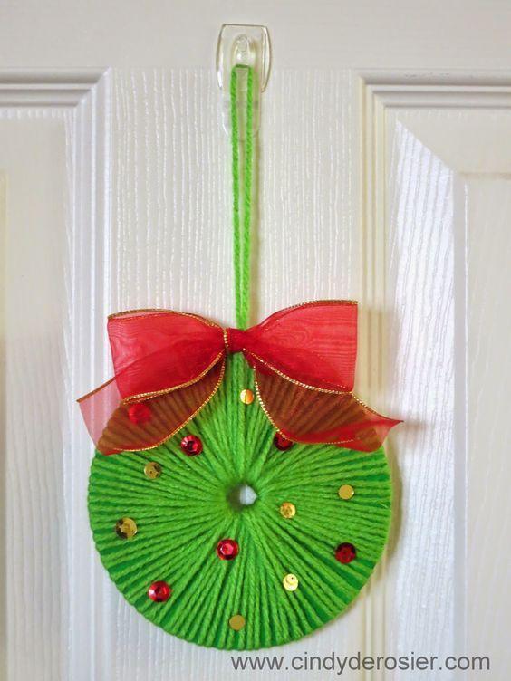 Reutiliza cds para hacer lindos adornos navide os hacer - Adornos navidenos papel ...