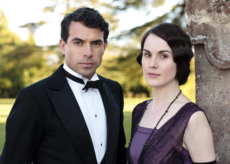Downton Abbey saison 5 : Lady Mary et Lord Gillingham - tournage