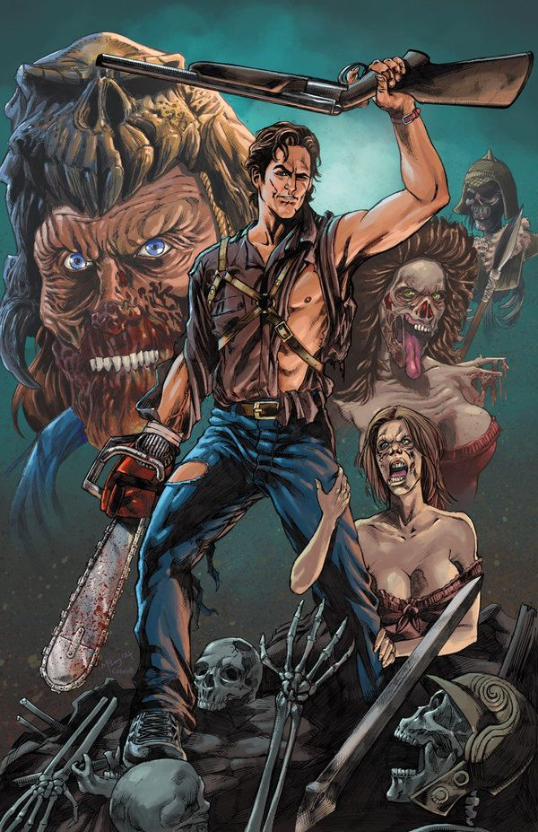 Army Of Darkness - Colored by Kevin-McCoy-Art