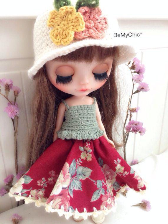 PRODEJ Blythe Pullip Dal Doll Oblečení zdobit Cloth klasické Knit