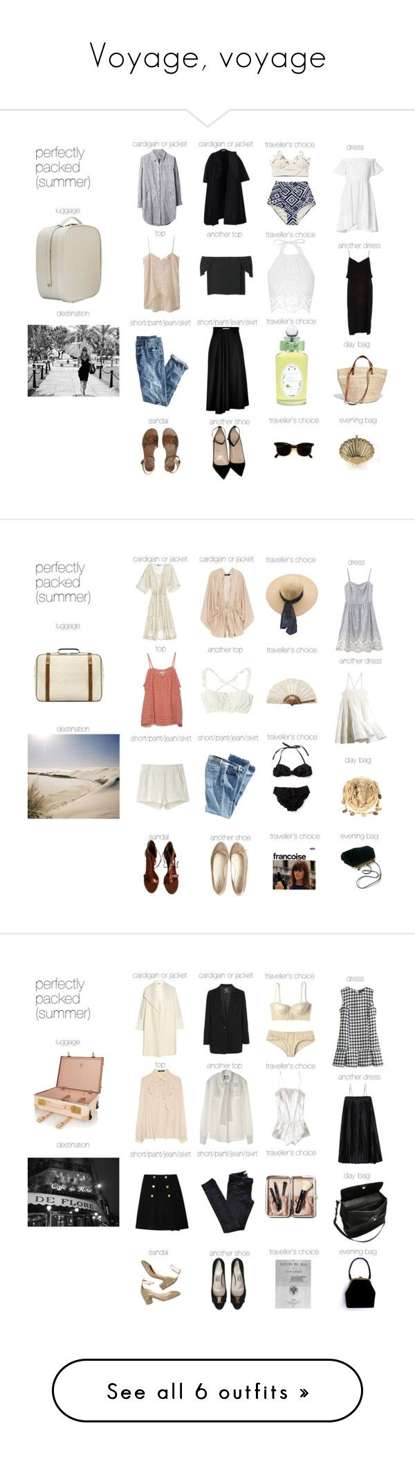 """""""Voyage, voyage"""" by yanghaizi ❤ liked on Polyvore featuring paris, memories, french and perfectlypacked"""