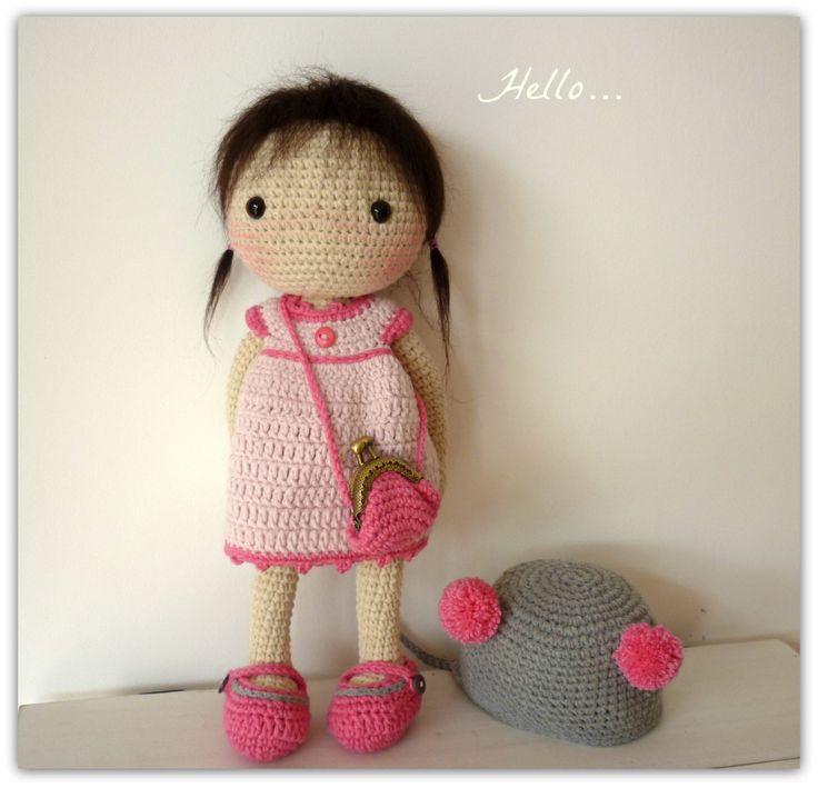 Amigurumi Crochet Doll Aya by Rusi Dolls por RusiDolls en Etsy