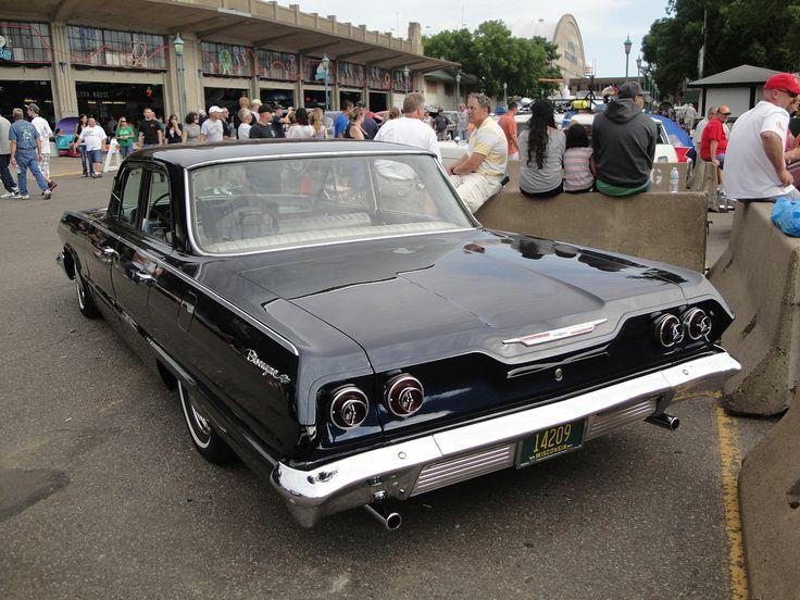 1963 - Chevrolet Biscayne - rear side