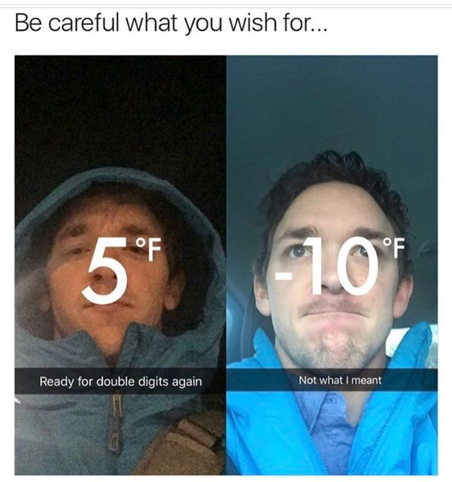 People who hate the cold be like...