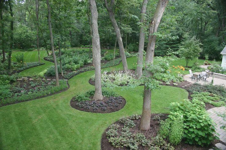 1000 Ideas About Landscape Around Trees On Pinterest